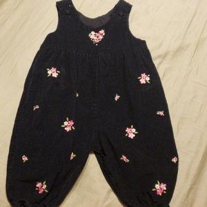 Infant Girls Corduroy Jumper